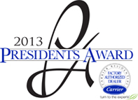 Carrier Presidents Award 2013