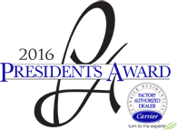 Carrier Presidents Award 2016